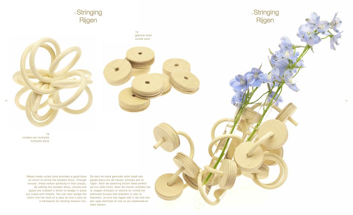9789089894519: the floral design manual: materials & techniques.